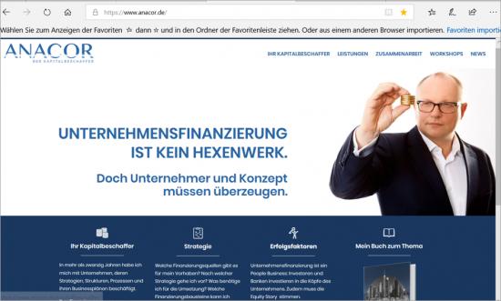 ANACOR-Homepage Desktop